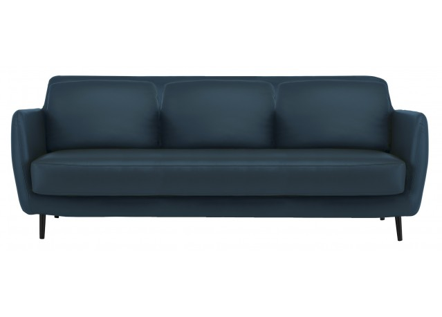 Sofa Fixed back SKY blue