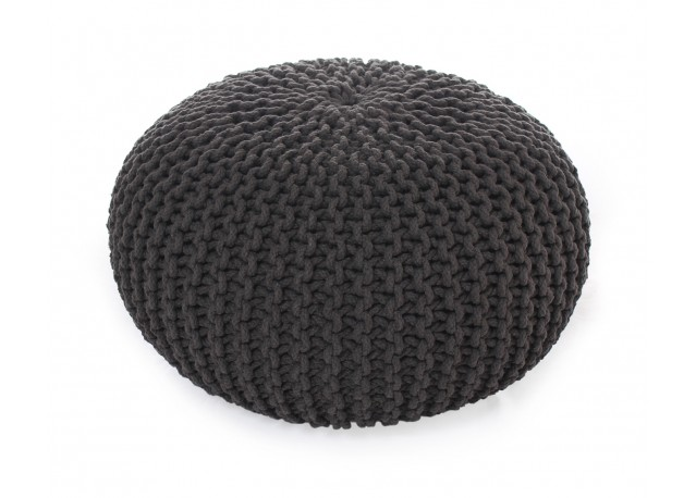 Pouf ROCK Anthracite