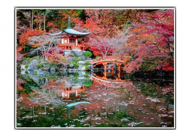 Monument de Daigo à Kyoto - 80 x 60 cm