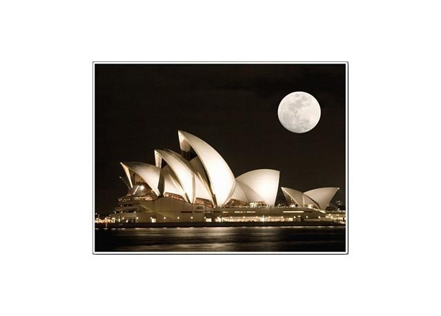 Opéra de Sydney - 66 x 50 cm