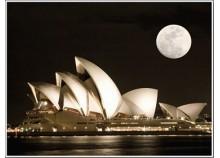 Sydney's opera - 66 x 50 cm