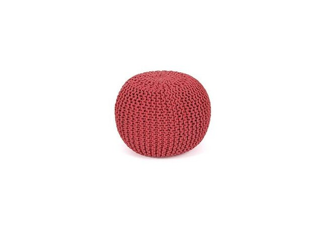 Pouf ROCK Rouge