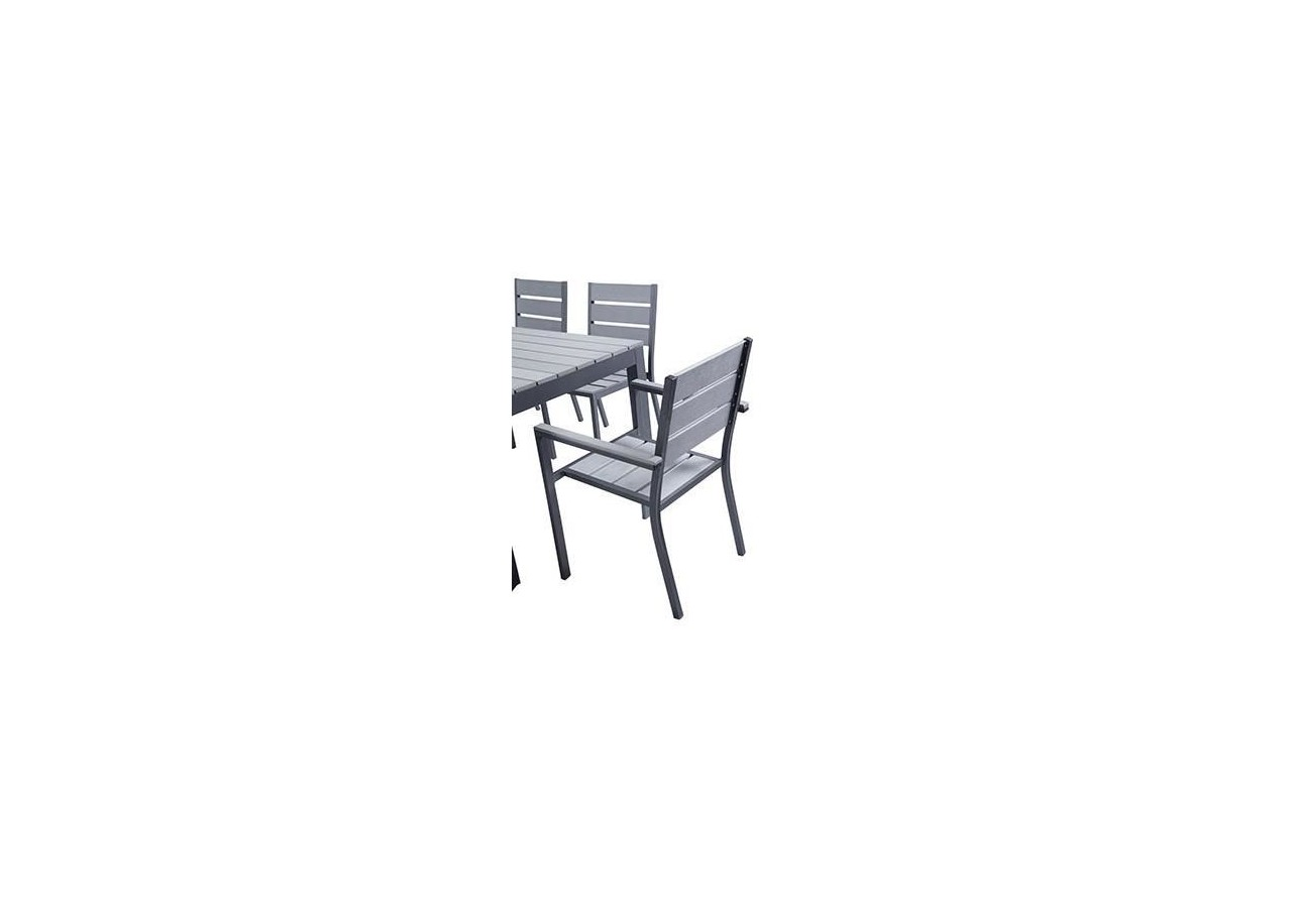 Rent Set Magda Garden Table 180 Cm 4 Chairs 2 Armchairs