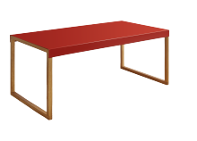 Coffee table KARMA Red