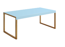 Table basse KARMA Bleu Rectangulaire