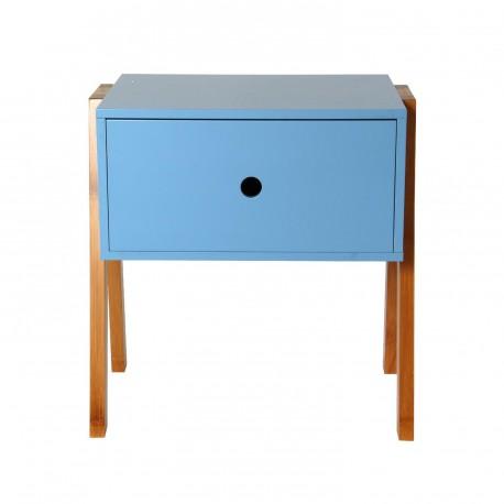 Table de nuit PILA Bleu
