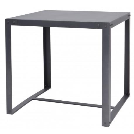Table à manger MEGAN Gris 80 cm