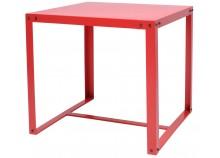 Table à manger MEGAN Rouge 80 cm