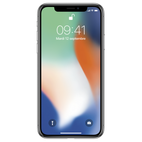 iPhone X - 64 Go - silver