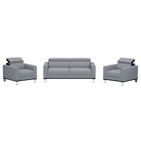 Ensemble canapé + 2 fauteuils NORA