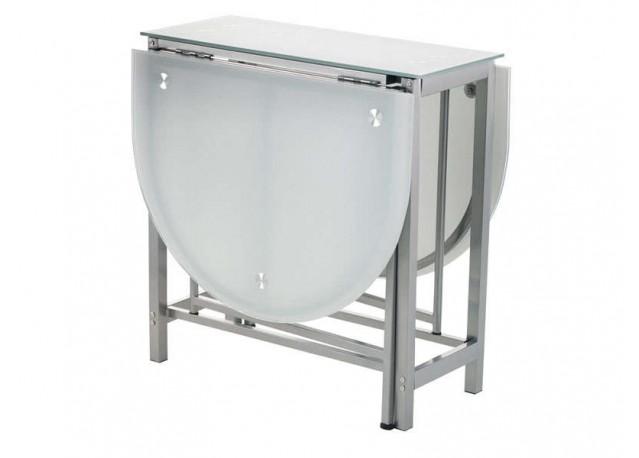 location table manger en verre dan. Black Bedroom Furniture Sets. Home Design Ideas